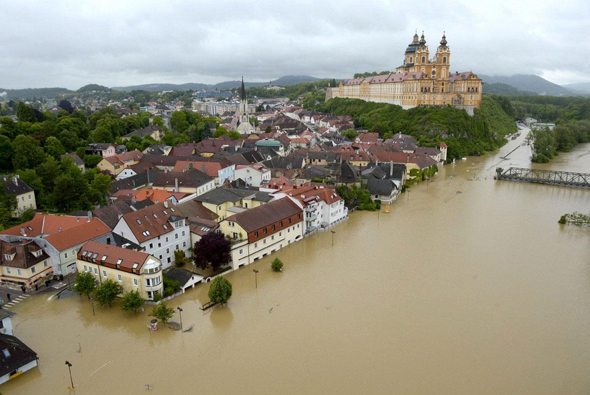 Наводнение в Мельк
