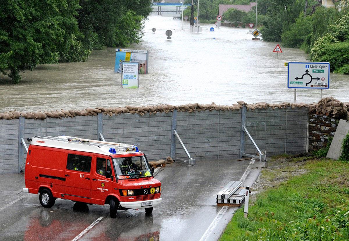 сооружения от дальнейшего затопления