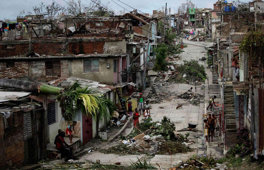 Сэнди, который ударил по Сантьяго-де-Куба, фото стихийного бедствия в Нью-Йорке