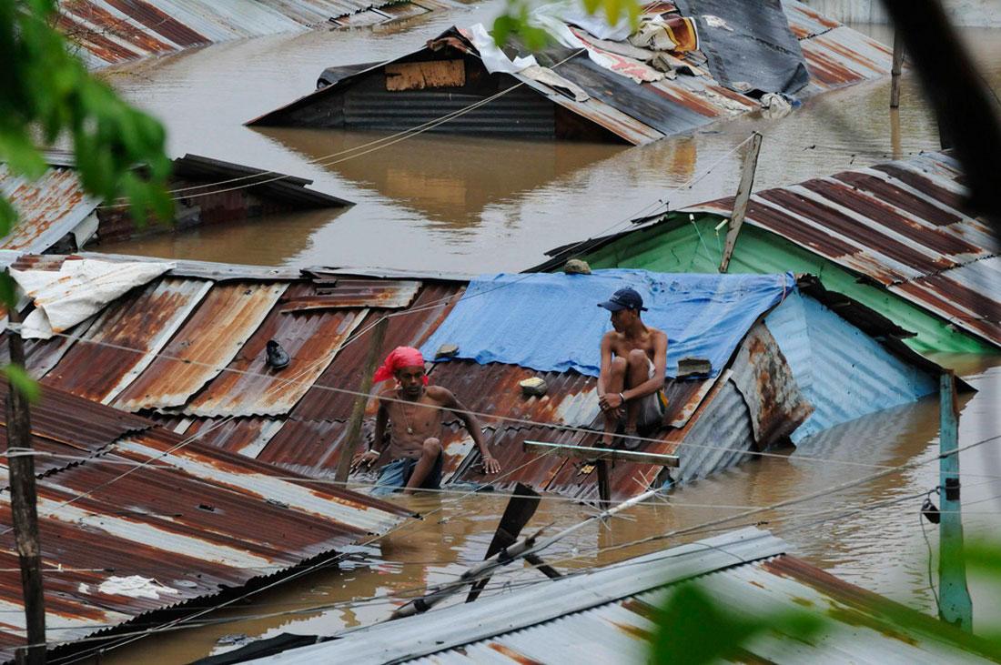 наводнение в Санто-Доминго, фото стихийного бедствия в Нью-Йорке