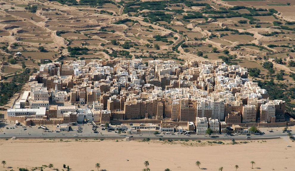 Шибам, город в Хадрамауте, Йемен, фото