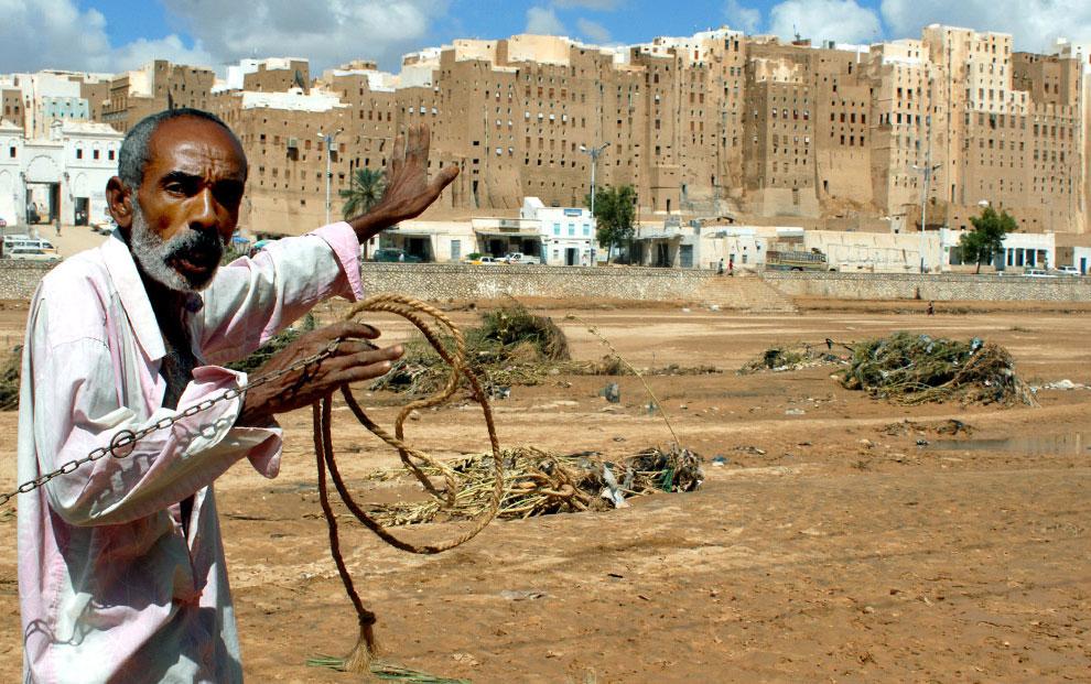 житель города Шибам, Йемен, фото