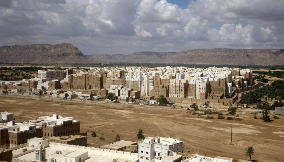 Древний город Шибам, Йемен, фото