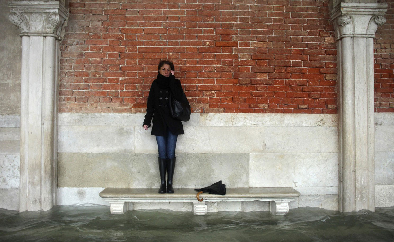 сильное наводнение в Италии