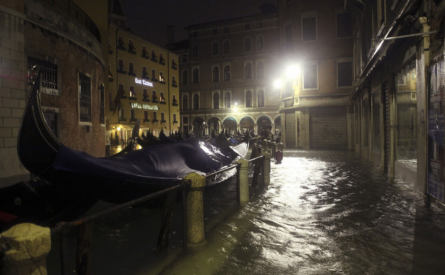 венецианские гондолы, фото