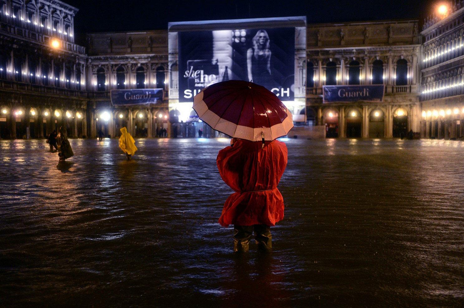 затопленная Piazza San Marco