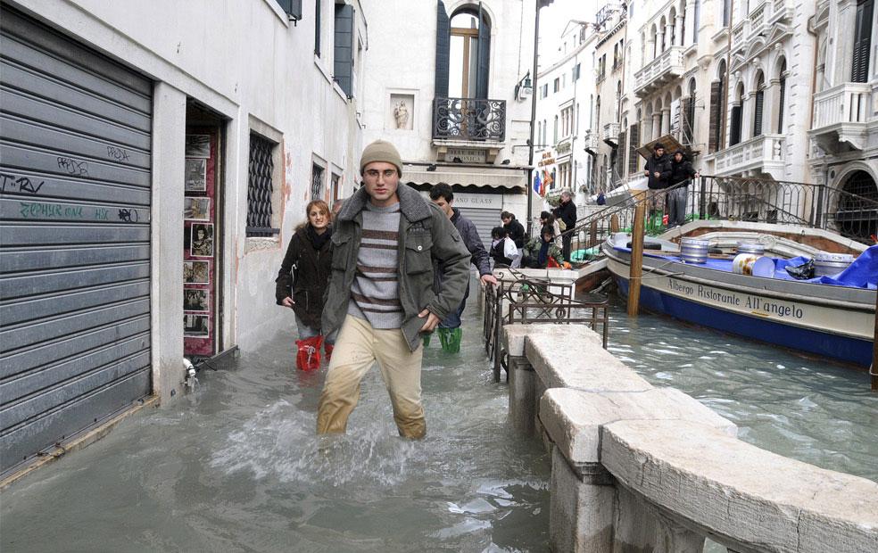 улицы у Гранд-канала, Венеция, фото