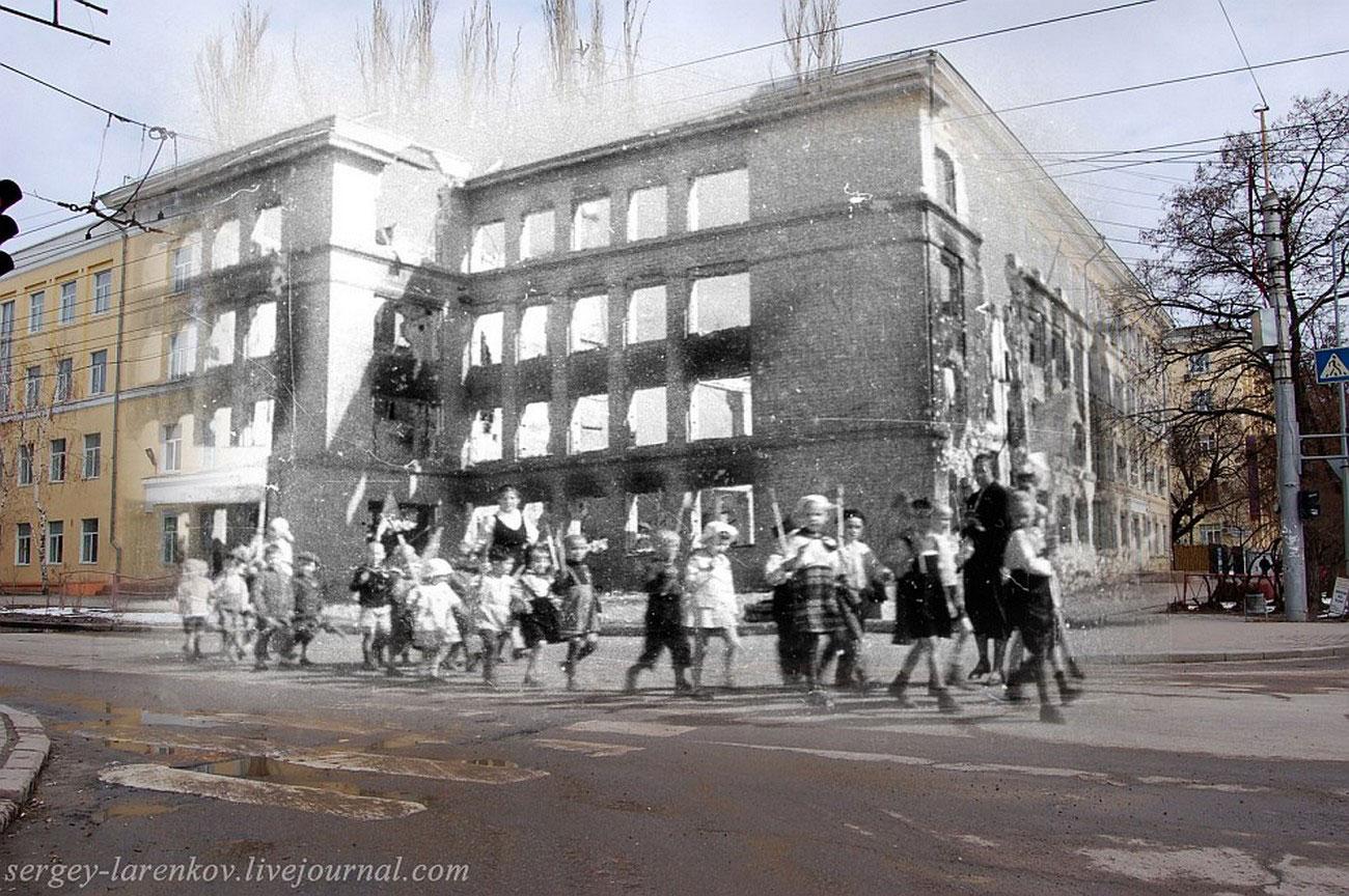 дети в Сталинграде