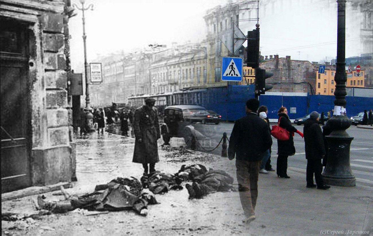 погибшие во время блокады Ленинграда