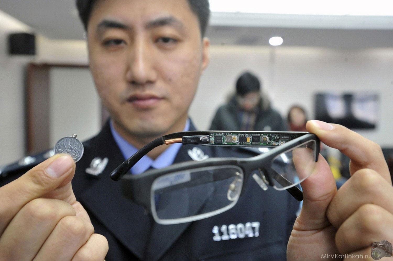 очки со скрытой камерой