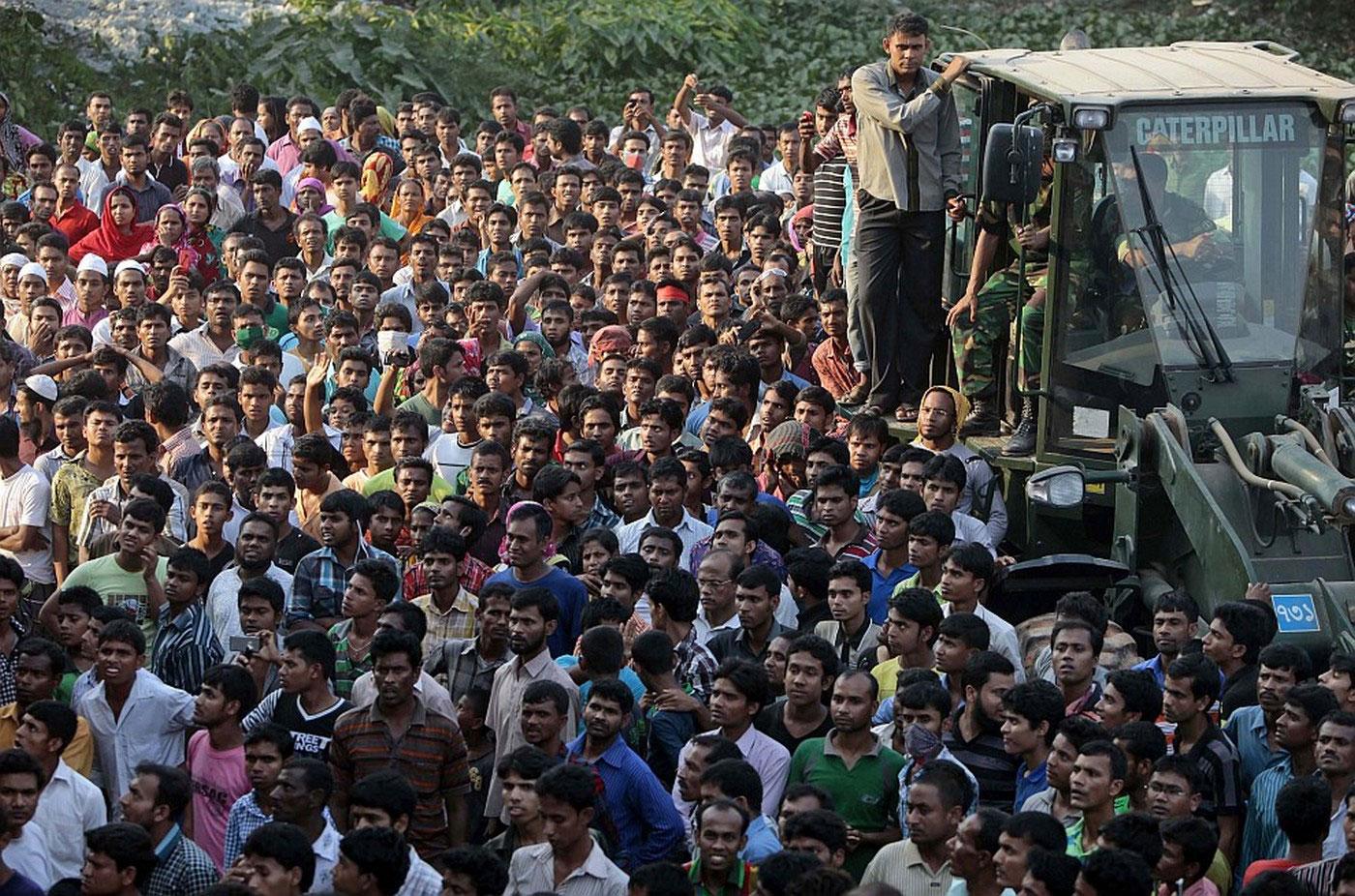 жители Бангладеша, фото