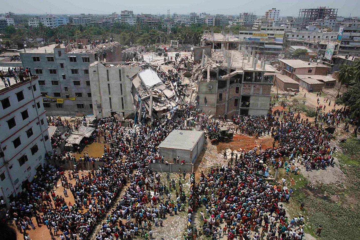 место происшествия в Бангладеш