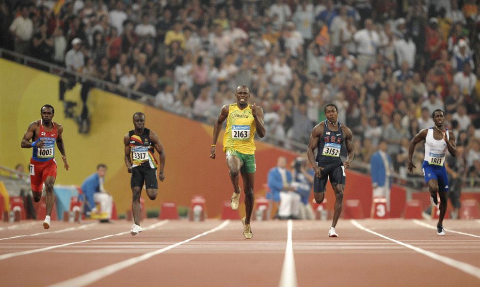 спринтеры с олимпиады в Пекине