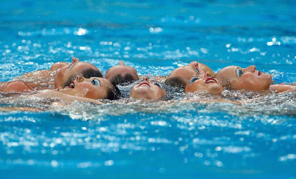синхронное плавание, олимпиада 2008, фото