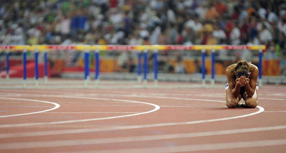 Бег с препятствиями на 100 метров, фото, Пекин