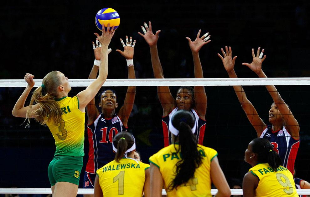 женский волейбол, фото, олимпийские игры 2008