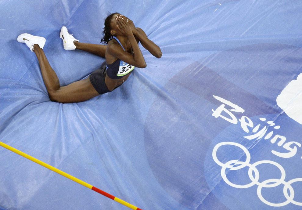 Прыжки в высоту, фото по легкой атлетике в Китае