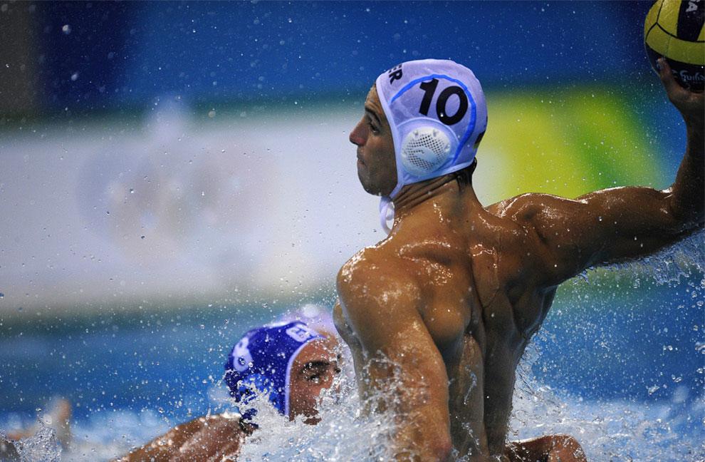 водное поло в полуфинале в Пекине