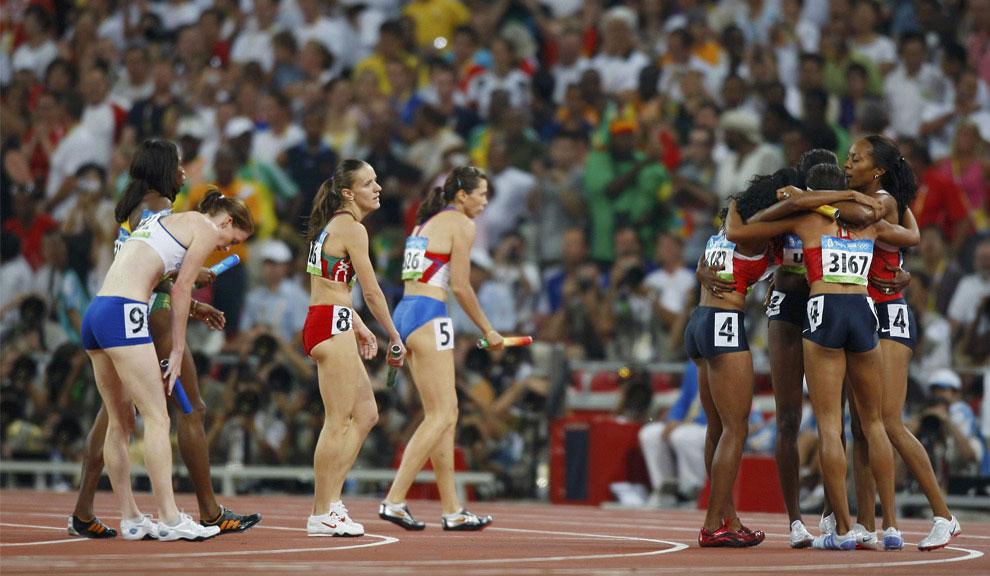 Женская эстафета, олимпийские игры фото
