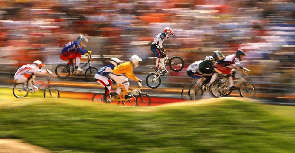 олимпиада на велосипедах фото