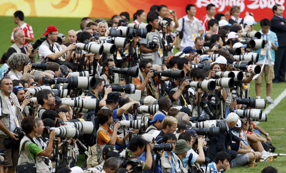футбол в Пекине, олимпиада 2008