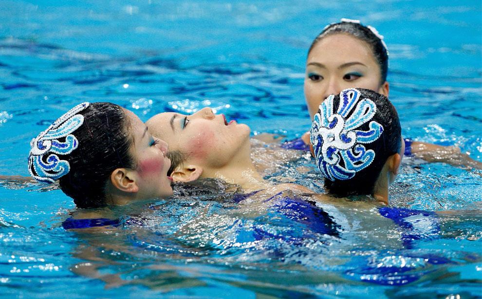 фото по синхронному плаванью японской команды