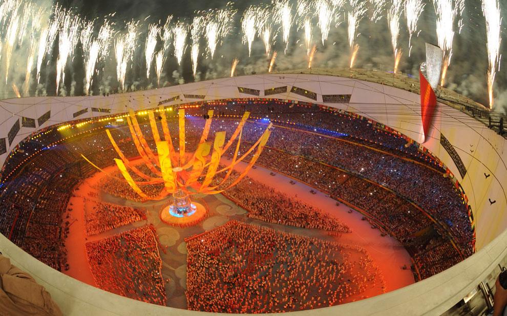 закрытие олимпийских игр в Пекине