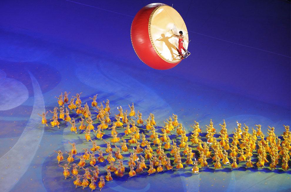 церемония закрытия олимпиады в Китае
