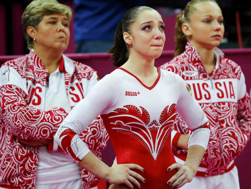 Алия Мустафина на олимпийских играх в лондоне
