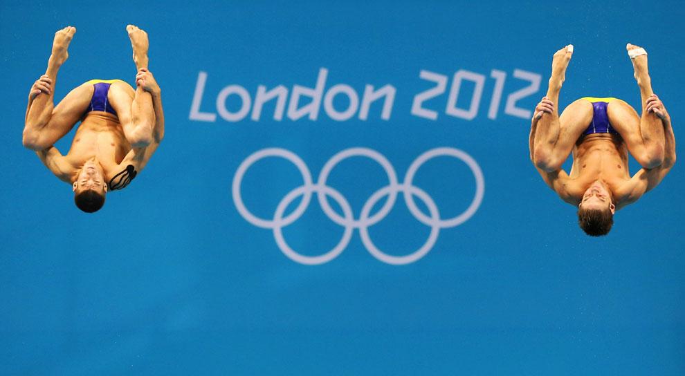 Украина, синхронные прыжки в Лондоне, фото