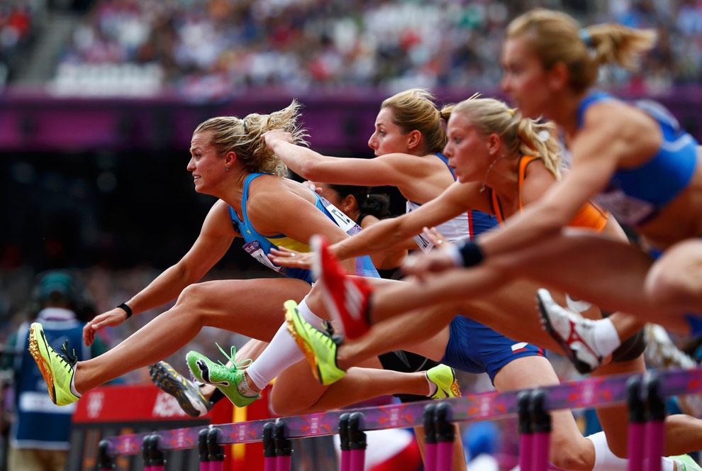 бег на сто метров на  олимпиаде 2012 в Англии