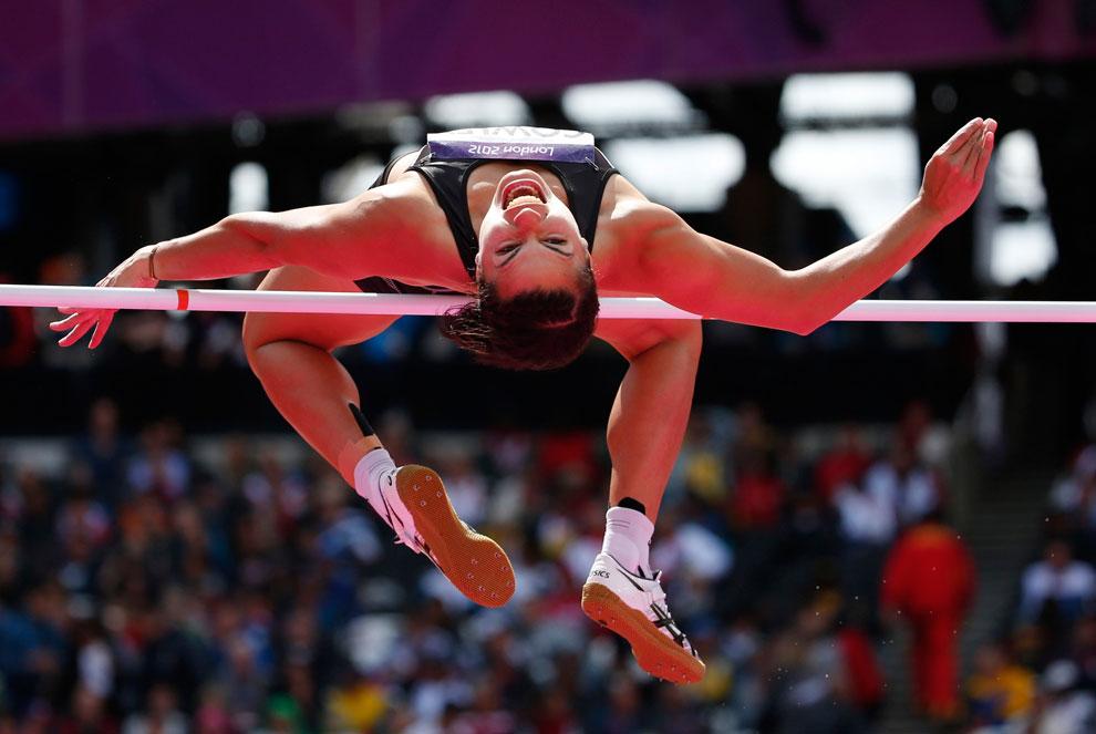 семиборье у женщин на олимпиаде в Лондоне, фото