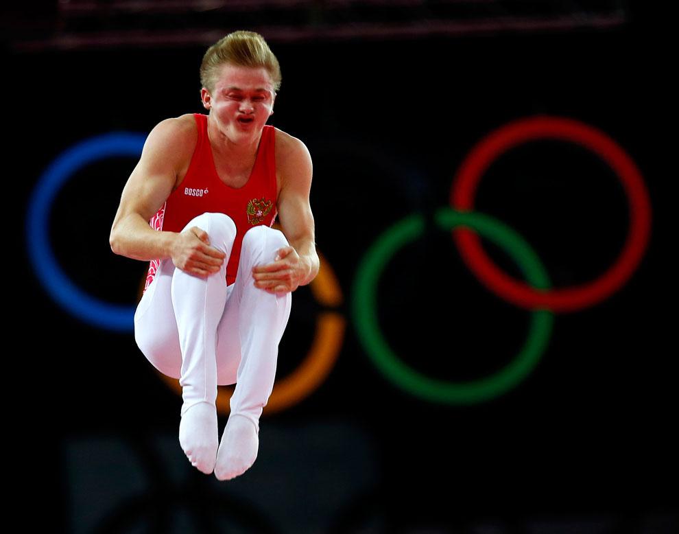 Спортивная гимнастика на олимпиаде в Лондоне, фото