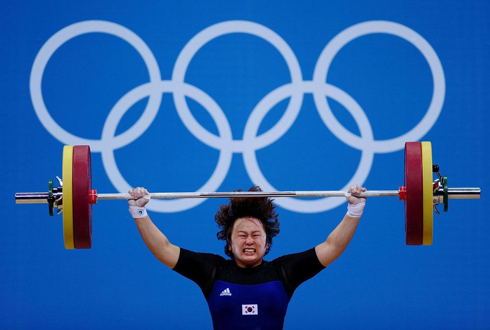 Корея в тяжелой атлетике на олимпиаде
