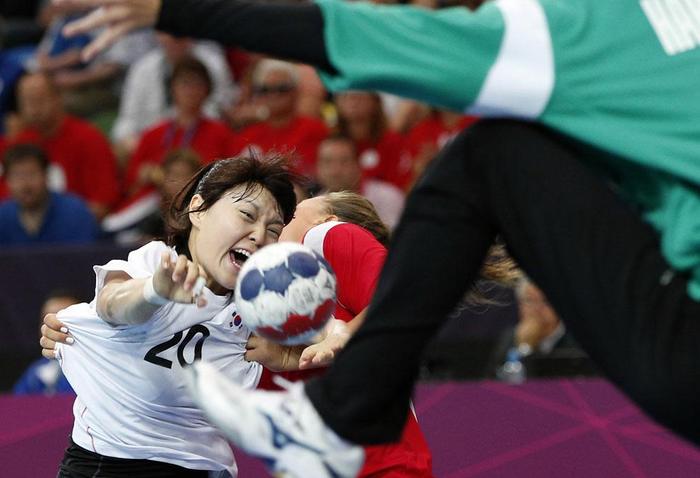 Норвегия и Корея, гандбол, фото