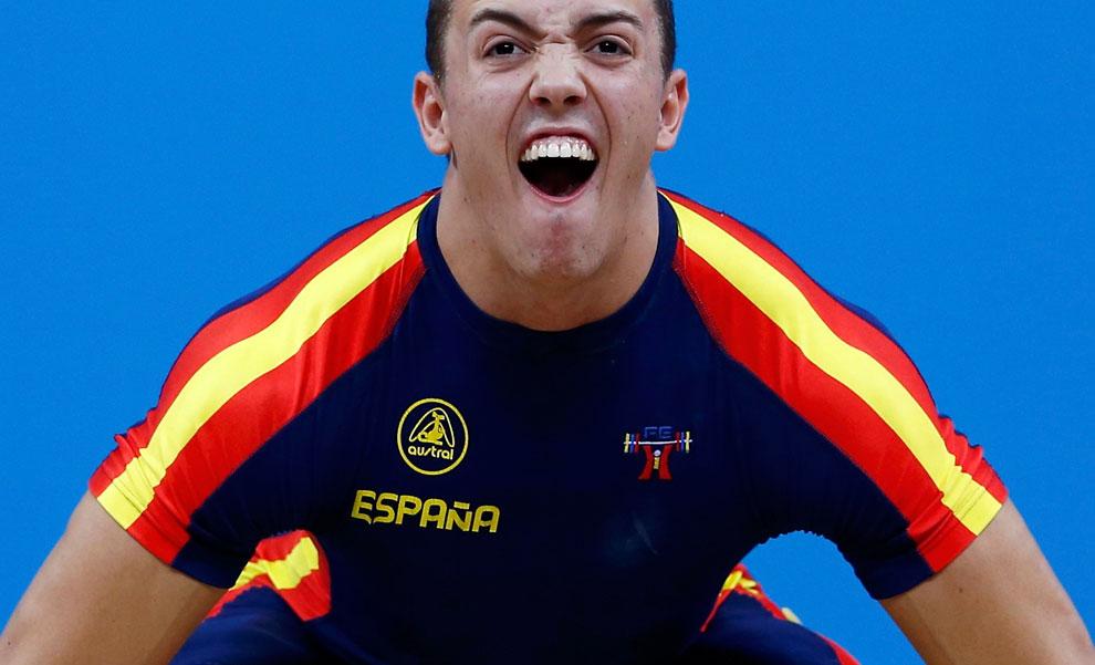 Испания в тяжелой атлетике на олимпиаде