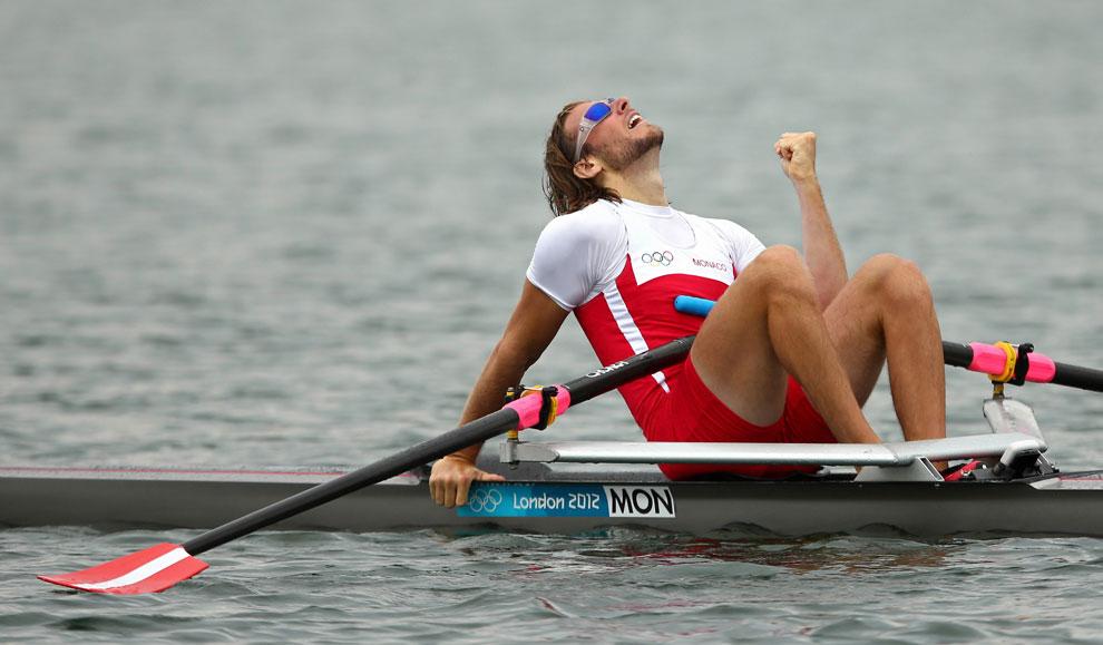 Монако в одиночном заплыве на олимпиаде, фото