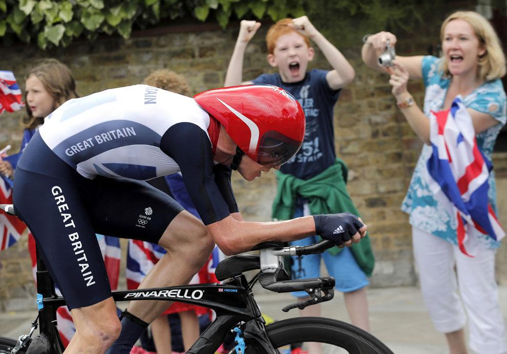 олимпийский чемпион в раздельной гонке, фото