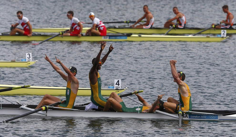 победа Южной Африки по гребле, фото