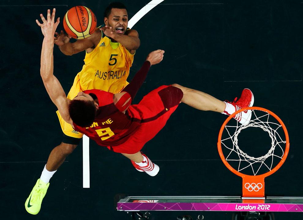 Австралия против Китая по баскетболу, фото