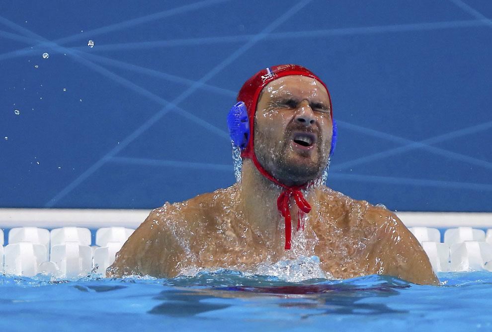 водное поло, Сербия против Черногории на олимпиаде, фото