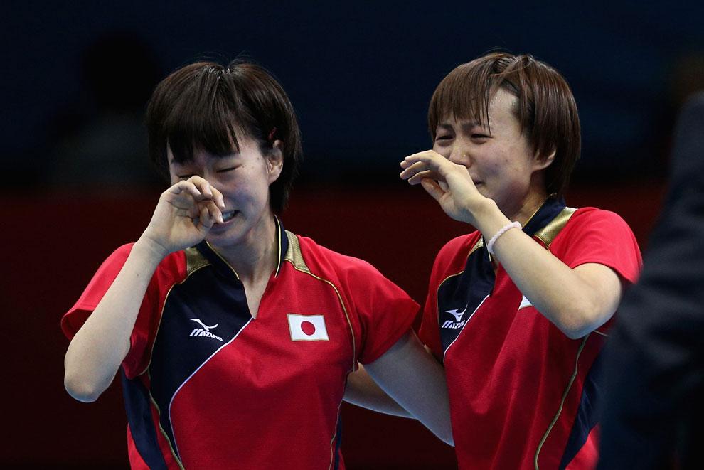 командный настольный теннис на олимпиаде, фото
