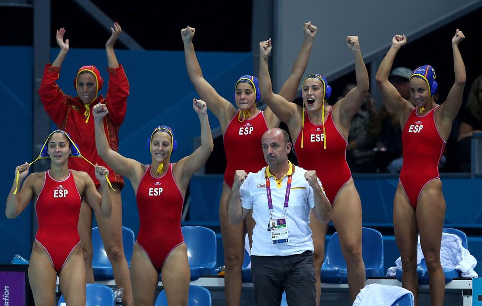 женское водное поло на олимпиаде, фото