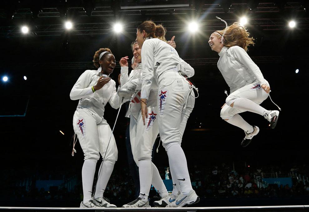 фехтование на олимпиаде, фото