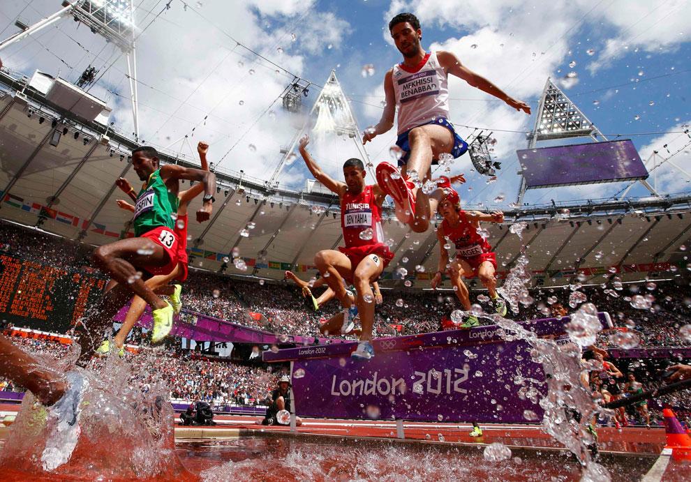 бег с препятствиями на олимпиаде в Лондоне, фото