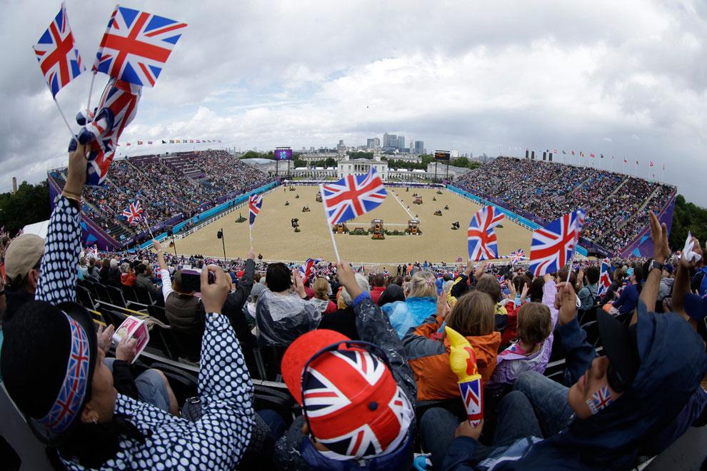 соревнования по выездке на олимпиаде в Лондоне, фото