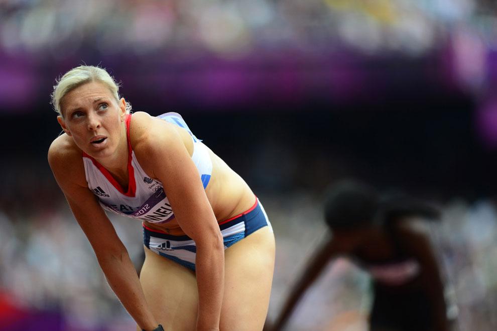 бег на 400 метров на олимпиаде в Лондоне, фото