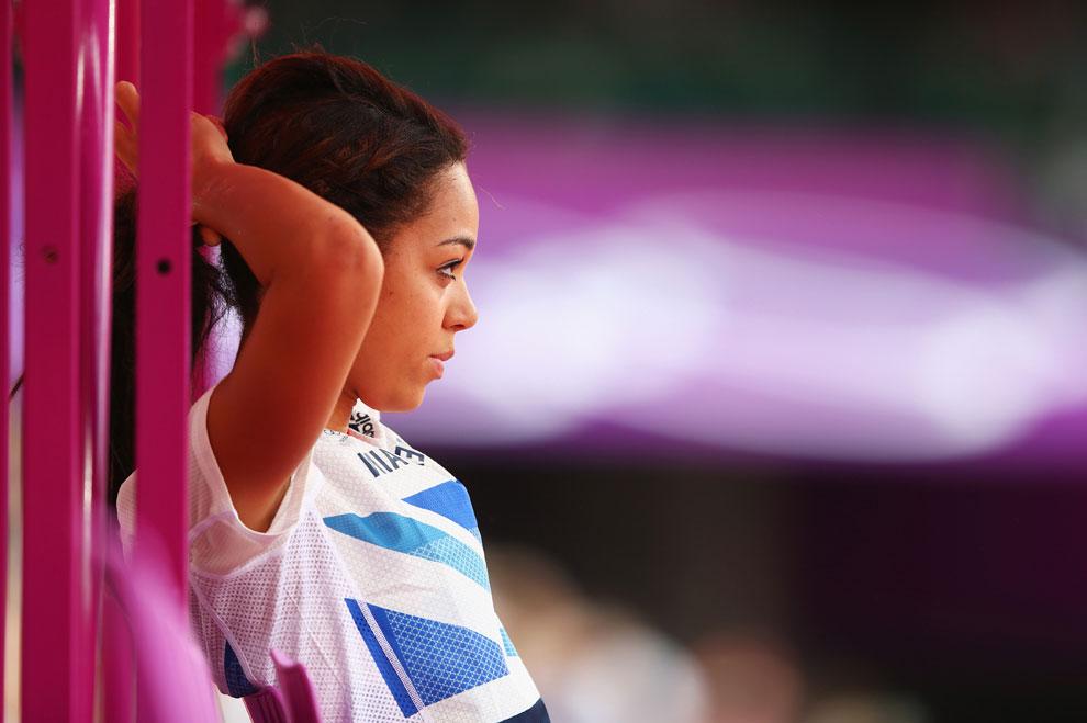легкая атлетика на олимпиаде в Англии, фото