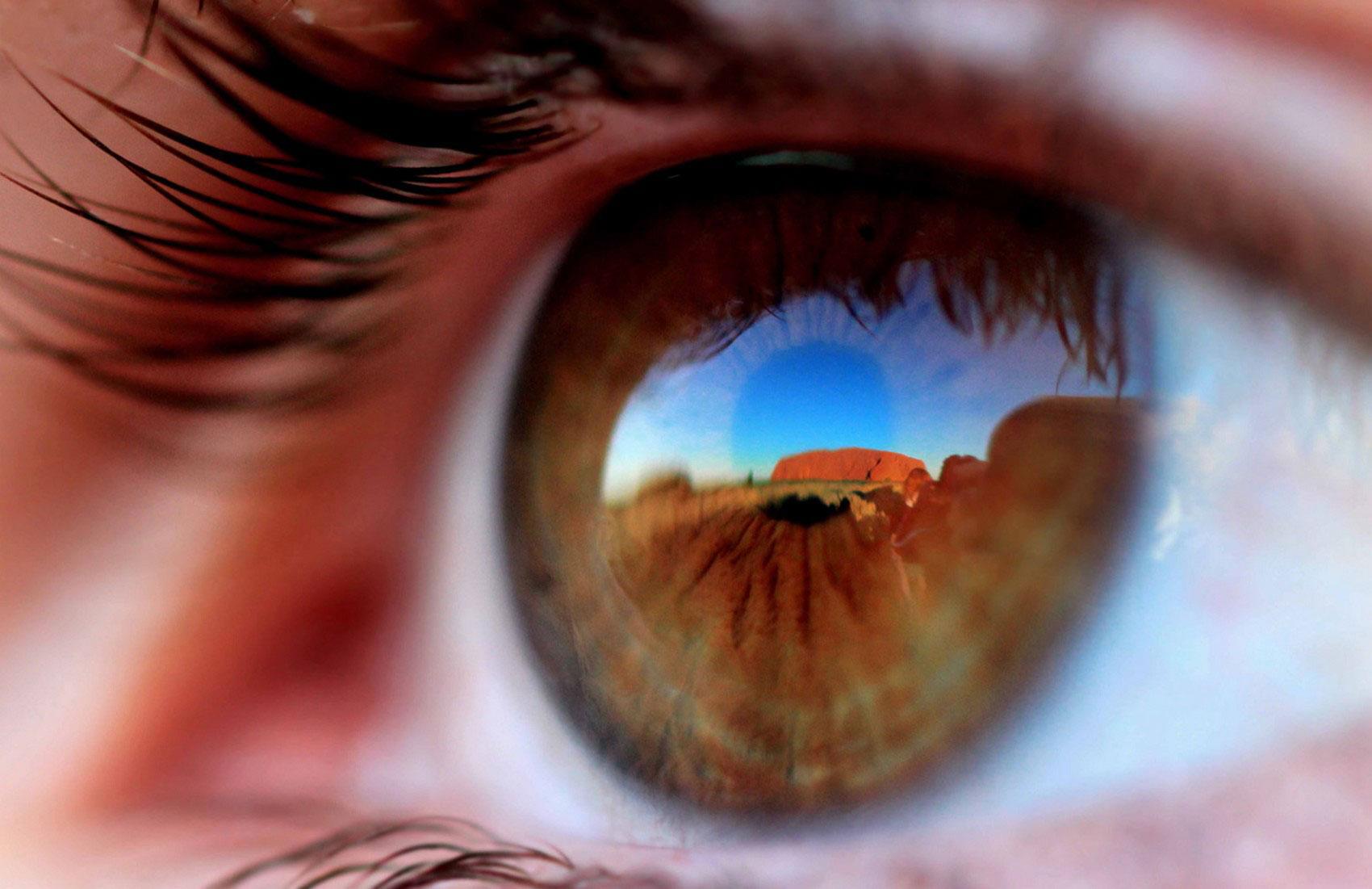 Отражение в глазах, фото