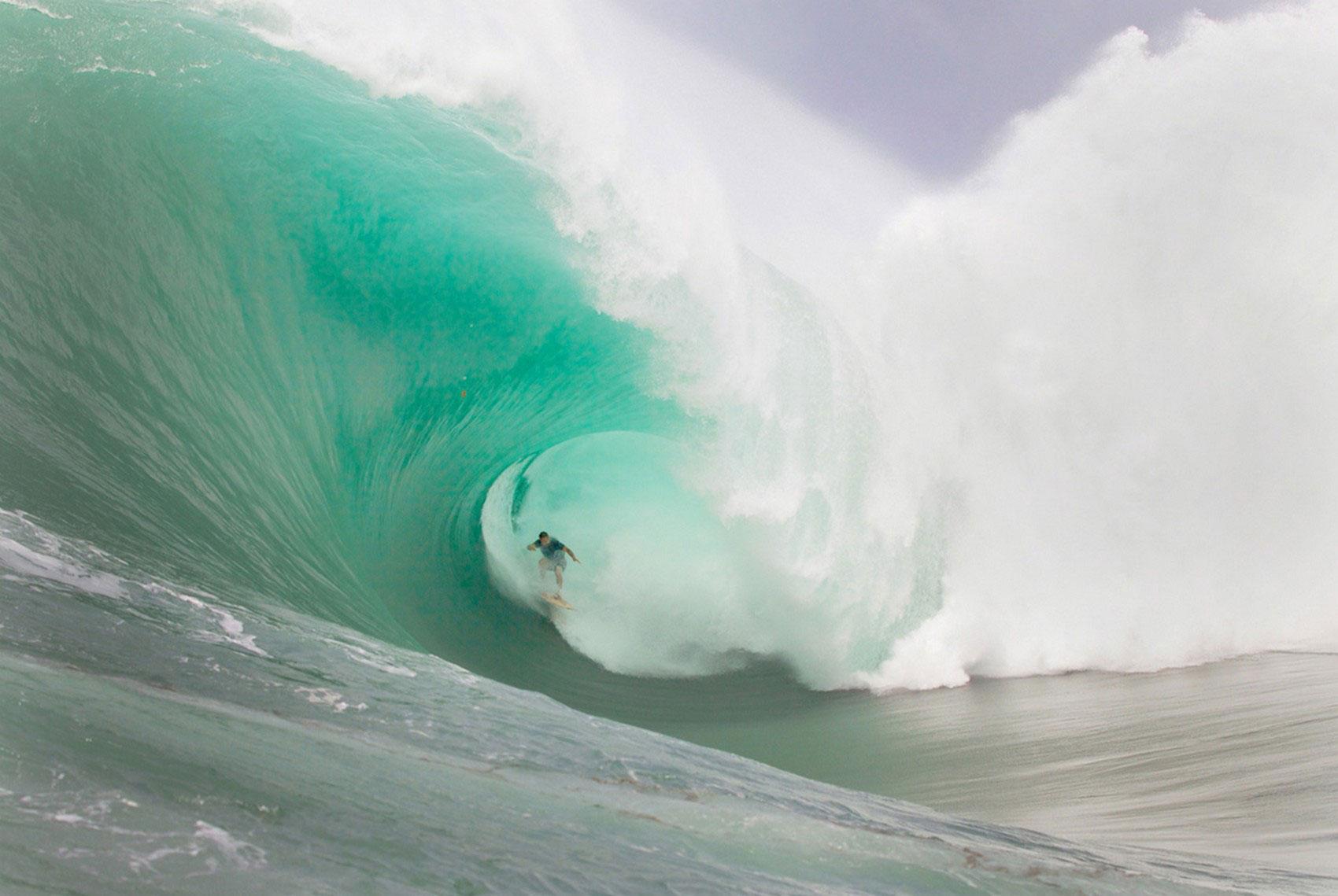 серфинг на Таити
